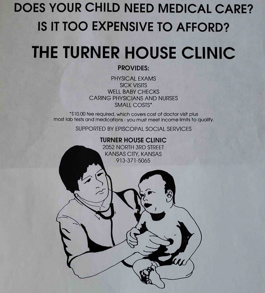 Turner House Clinic Flyer